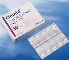 Clomid  Clomiphene citrate 50mg (Generic)