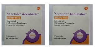 Seretide 50/250 (Brand) GSK1 Inhalar