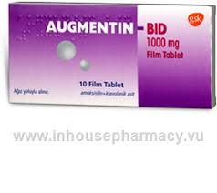 Augmentin 1000mg 42 Tablets