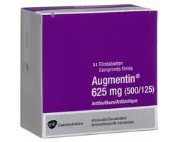 Augmentin 625mg Beecham 30 Tablets