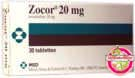 Zocor Simvastatin 20mg  MSD 35 Tablets